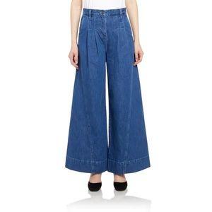 Ulla Johnson Lange Wide Leg Jeans